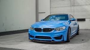 Beautiful Yas Marina Blue BMW M4 with Agency Power Aeroform Carbon ...