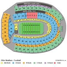 Psu Football Seating Chart Football Stadium Penn State Football Stadium Seating