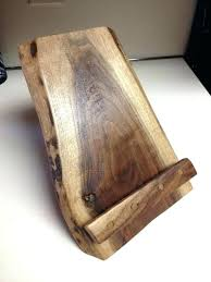 recipe book stand reclaimed wood cook or picture frame holder stands australia