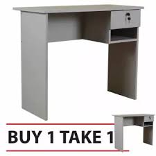 office table buy. Delighful Table Tailee Furniture 1304 Office Table Grey BUY 1 TAKE With Buy