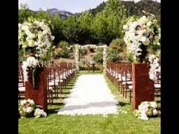 DIY garden wedding ideas