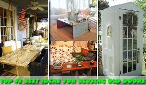 00 old door reusing ideas woohome