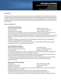 Financial-Management Analyst Resume. OBJECTIVES To obtaina positionina  professional office environmentwhere my knowledge andskillsare  valuedandcanbe fully ...