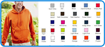 Gildan Color Chart Hoodies Cheap Clothing Stores Gildan Hoodie Size Chart