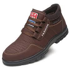 <b>AILADUN Men</b> Low-top Casual <b>Warm</b> Shoes Retro Striped Upper ...