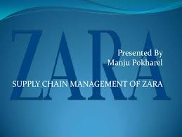supply chain management of zara