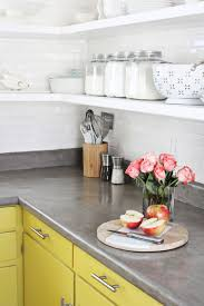 image of diy concrete countertops pros and cons