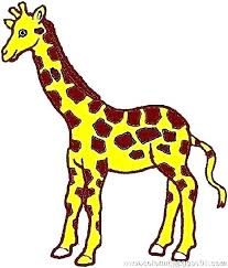 Giraffe Color Page Color The Giraffe Coloring Page Alterneinfo