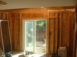 sliding door installation home designs ideas