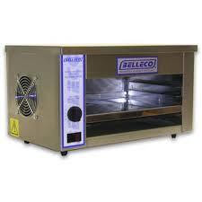 jw1 commercial 13 countertop infrared finishing broiler oven 120v