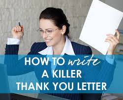 How To Write A Thank You Letter For A Donation How To Craft A Killer Thank You Letter Fired Up Fundraising With