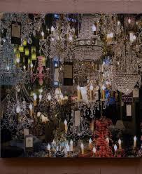 chandelier canvas art square