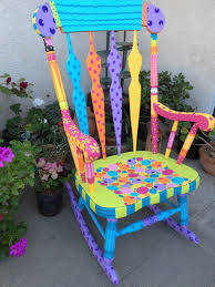 colorful painted furniture. best 25 painted rocking chairs ideas on pinterest front porch and seating colorful furniture