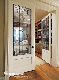 home office doors. Decorative Glass French Doors Define This Home Office. Simpson Venetia 8424 Interior | 8\u00270\ Office E