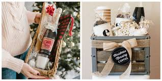 18 diy gift basket ideas how to make your own holiday gift baskets