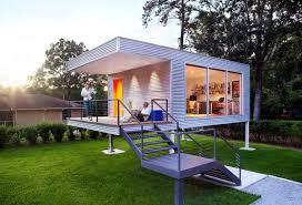 contemporary tiny houses. A Modern Backyard Home Office By ASUL Studio Contemporary Tiny Houses U