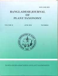 Bangladesh Journal Of Plant Taxonomy
