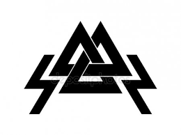 valknut is a symbol of the world s end of the tree yggdrasil sign of the