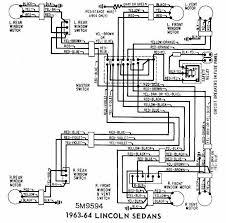 lincoln sedans 1963 1964 windows wiring diagram 62 cadillac Ford Ignition Wiring Diagram at 1964 Ford Fairlane Wiring Diagram