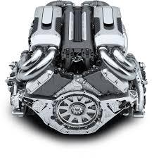 chiron bugatti the newly developed w16 engine