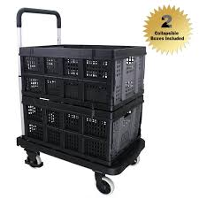 office trolley cart. Affordable Finether Multi-Purpose Height-Adjustable Aluminum Folding  4-Wheel Flatbed Trolley, Office Trolley Cart P