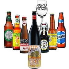 8 wonders of the world craft beer gift set selection mixed case plus branded gl amazon co uk beer wine spirits