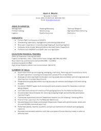 Shipping And Receiving Resume Uxhandy Com
