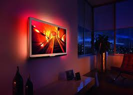 Ambient Light Behind Tv Led Strip Lights Behind Tv Tv Backlight Wall Mounted Tv