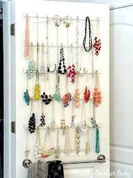 jewellery hanging storage best necklace storage ideas on necklace hanger  necklace holder and jewelry holder wood