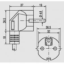 schuko plug 0 75mm² elpro elektronik hawa hans wagner
