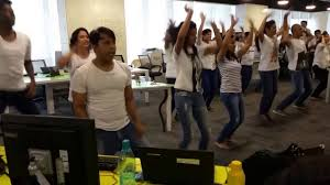 Intellect Design Arena Flash Mob Intellect Design Arena Ltd By Sanjay Mohapatra