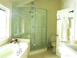 whirlpool shower combo corner corner whirlpool tub shower combo