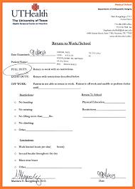 7 8 Urgent Care Blank Doctors Note Formsresume