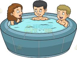 free for on rpelm a woman bathtub clipart