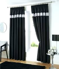black and silver curtains 90x90 silver and black curtains pencil pleat lined curtains white black or