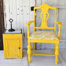 bright painted furniture. bold and fancy yellow chair painted furniturepainted chairscolor yellowbright bright furniture
