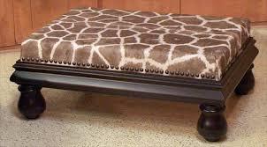 giraffe furniture. African Skin Ottoman Furniture Giraffe T
