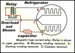 refrigerator compressor starter wiring diagram efcaviation com Fridge Relay Wiring refrigerator compressor starter wiring diagram fridge relay wiring