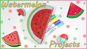 Decorate Pencil Case Watermelon Diy Projects How To Decorate Usb Flash Drive