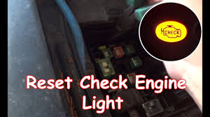How To Erase Check Engine Light Without Scanner Diy Reset Check Engine Light Without Obdii Reader