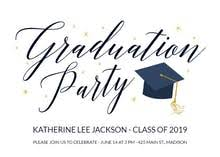Graduation Party Announcement Graduation Party Invitation Templates Free Greetings Island