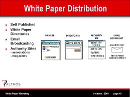 White Paper Marketing   White Paper Distribution White Paper Distribution