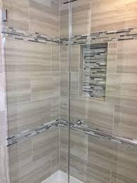 Tile shower images Glass Custom Tile Shower In Master Phillippe Builders Baths Phillippe Builders