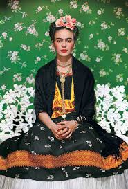 beautiful pictures from frida kahlo s incredible and difficult life frida kahlo on white bench new york nickolas muray 1939 throckmorton fine art the harn museum of art
