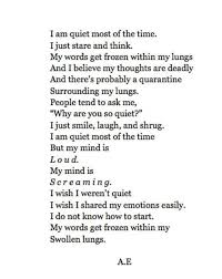 Quiet Quotes Mesmerizing I'm Quiet Shared By Jenna On We Heart It