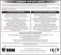 Gas Plant Operator Resume Examples Internationallawjournaloflondon