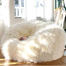 fur chairs bean bag cover lounger size sofa seat living room furniture without filling beanbag beds fur chairs