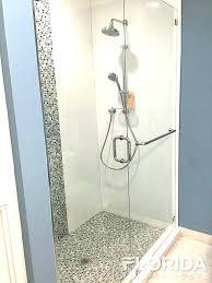 marvelous towel bar glass shower door install towel bar glass shower door doors custom inline panel