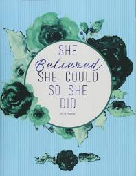 Amazonin Buy Planner 2018 She Believed She Could So She Did