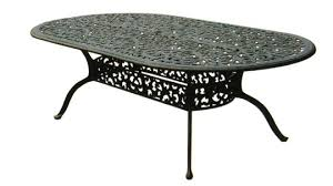 patio furniture table dining cast
